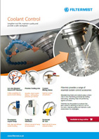 Coolant Control products from Filtermist flyer