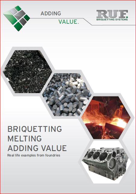 Briquetting Melting Adding Value