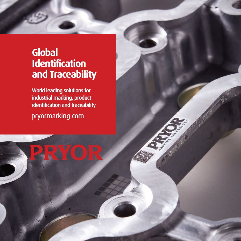 Marking and traceability experts Pryor Marking Technology company brochure