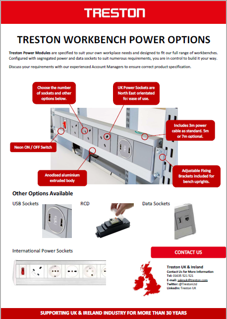 Treston UK Power Options