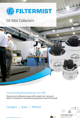 Filtermist 2017 Oil Mist Collectors and Accessories brochure cover