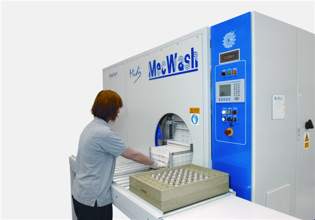 A-Dec (USA) installed a MecWash Midi (pictured)
