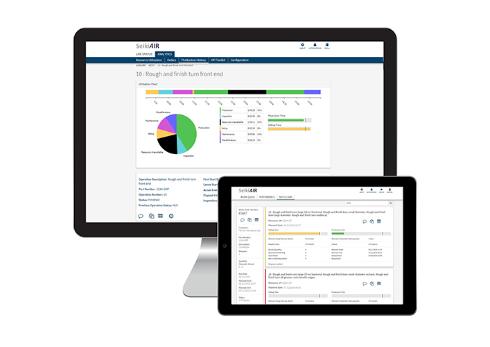 Seiki AIR - Manufacturing Operations Management Software