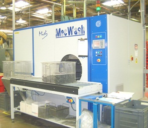 MecWash Midi component cleaning system - Hellerman Tyton - UK