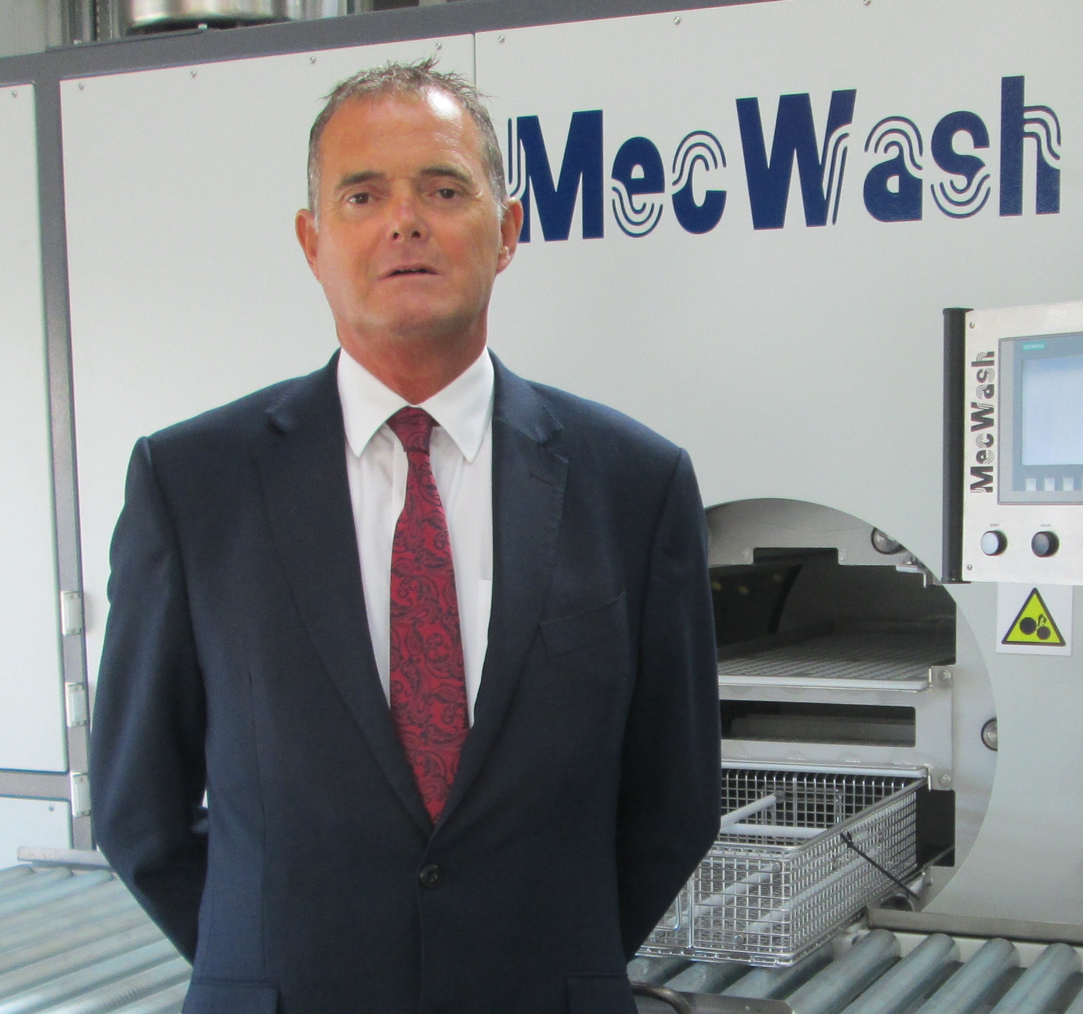 Robin Yeo who has joined MecWash to strengthen sales presence