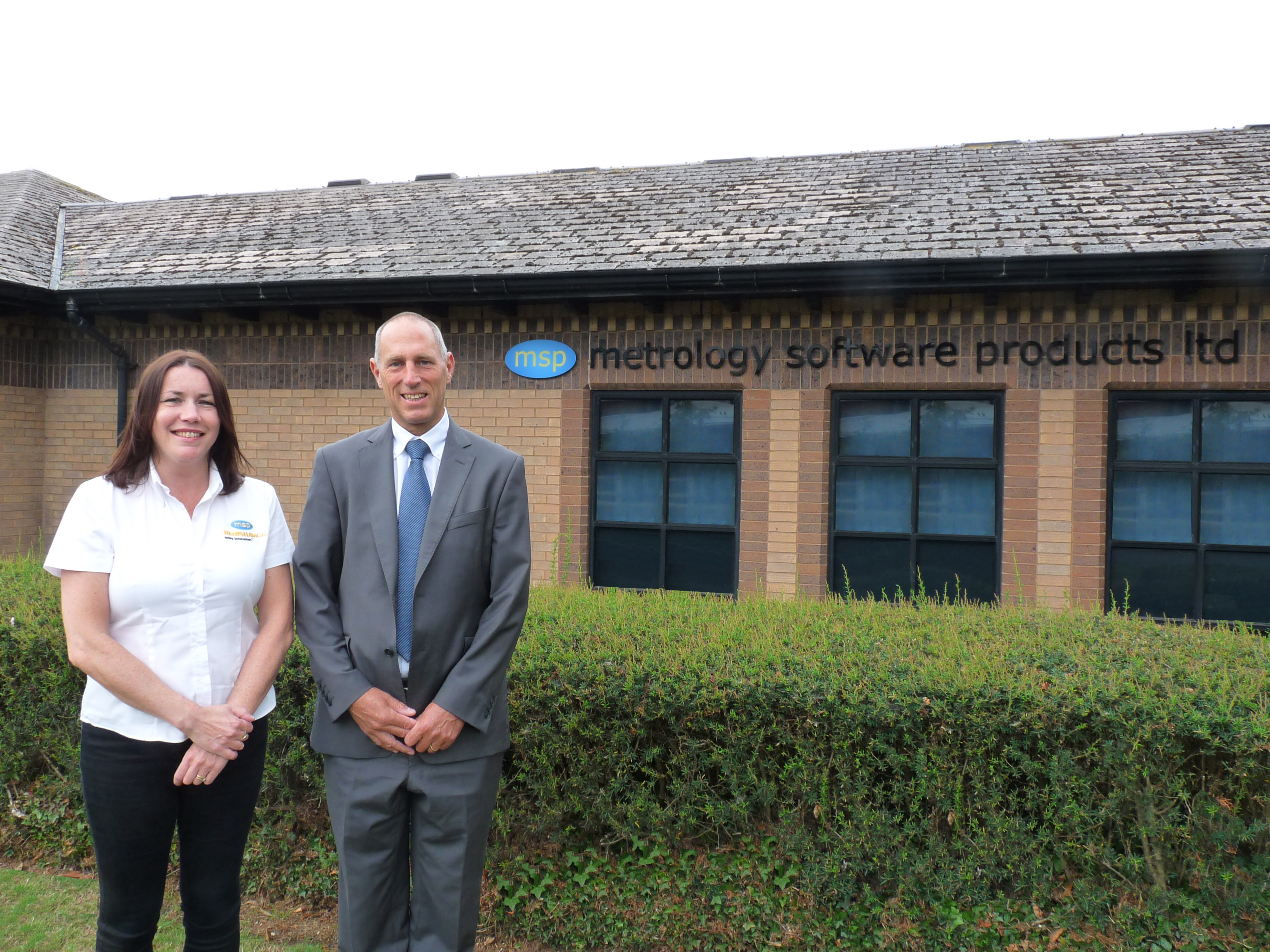 MSP's new appointments: Director of Development, Marianne Whitfield and UK Technical Account Manager, Keith Langford