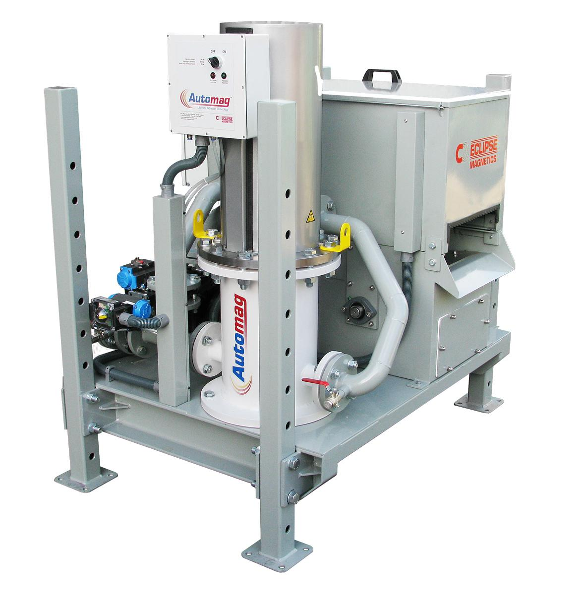 Automag Skid - filter & reclaim unit
