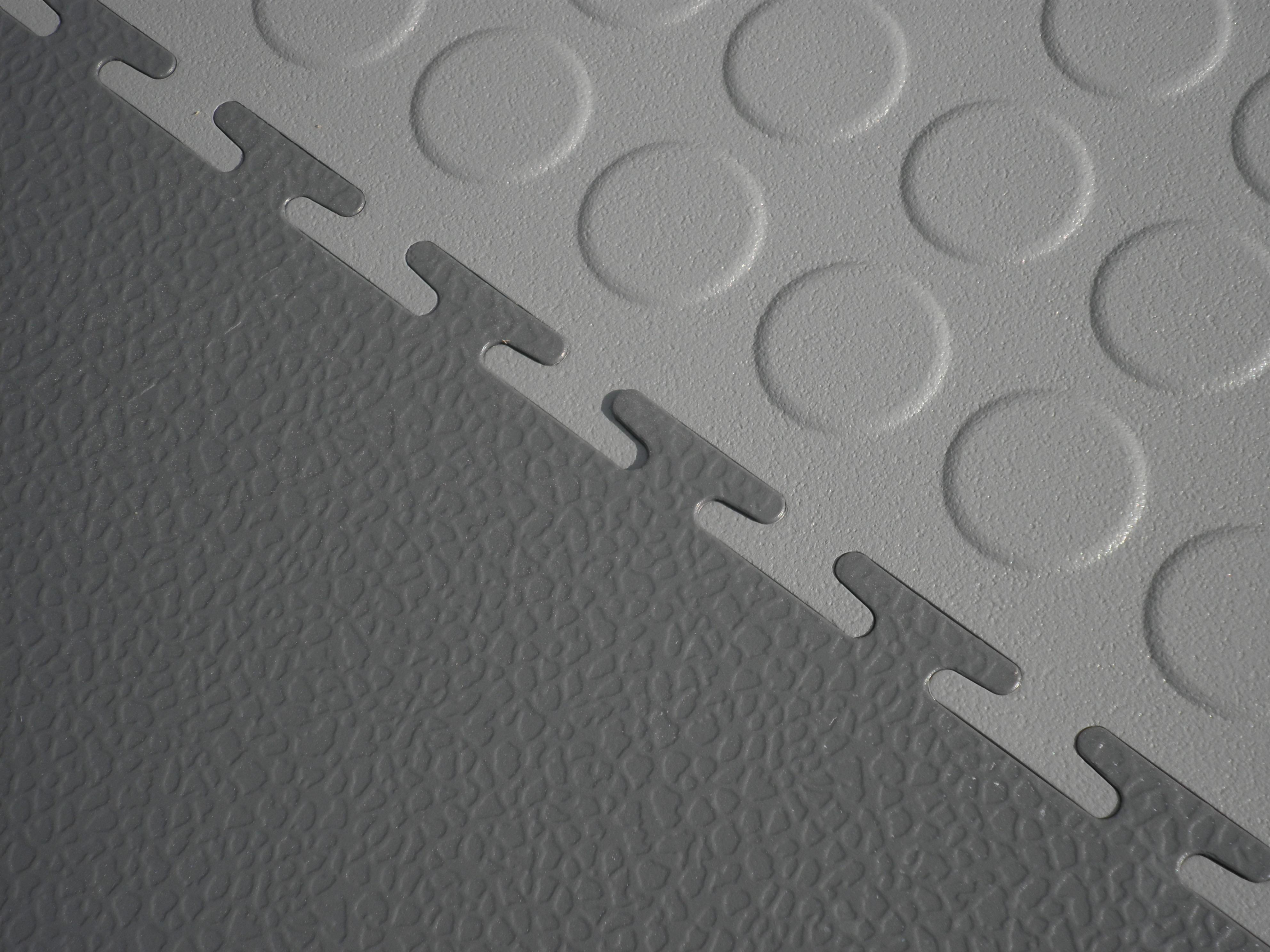 Ecotile E500/7 smooth and raised disk interlocking tiles