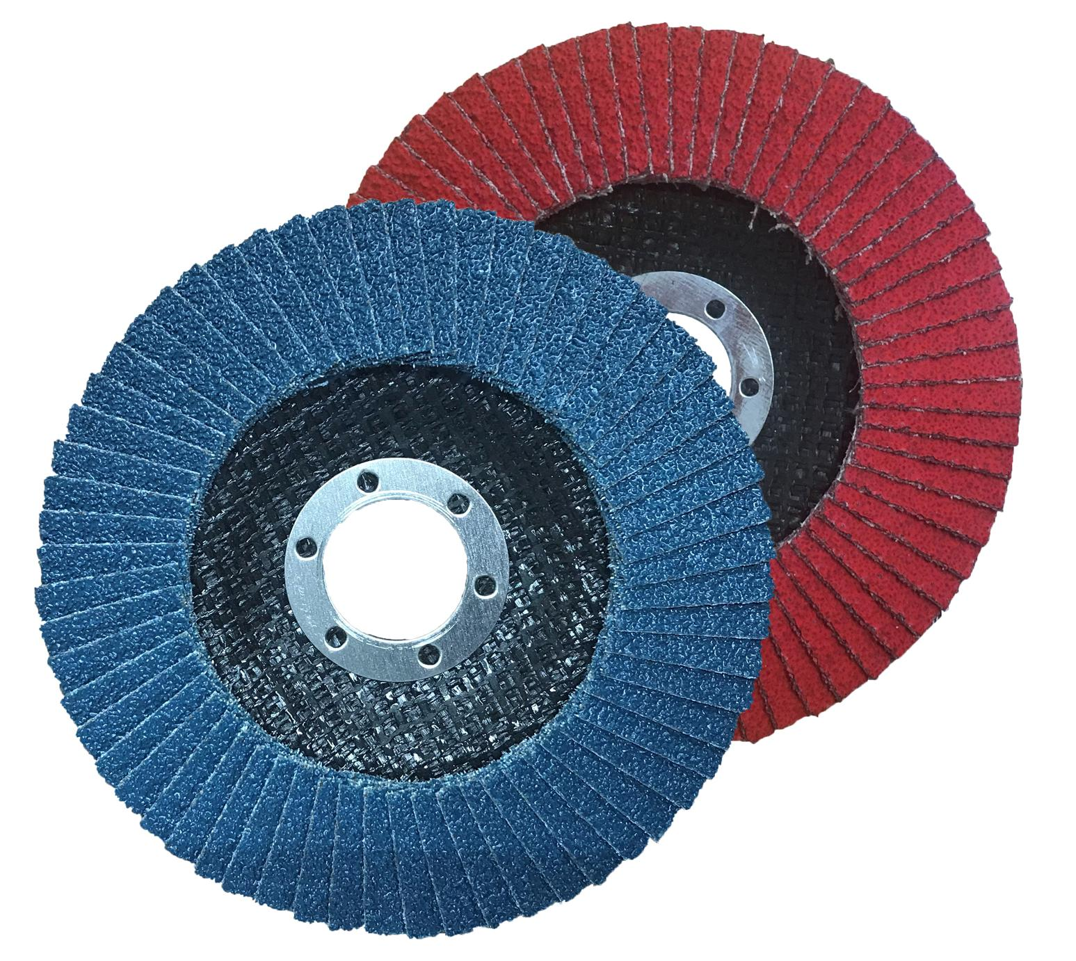 FSC Zirconia flap disc and the FHCC Ceramic flap disc provide high quality finishing on stainless steel, steel and aluminium.