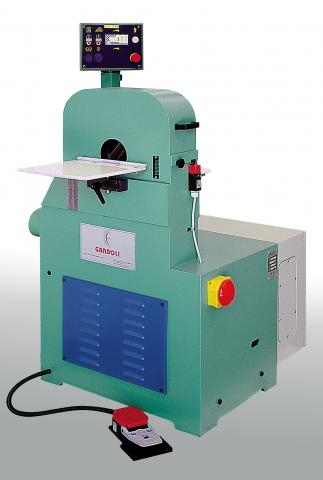Garboli LPC 300 Metal Tube Polishing Machine For Grinding and Finishing Stainless Steel Tubes